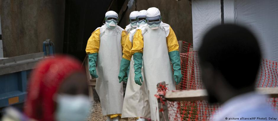 Health workers in the Democratic Republic of Congo during the Ebola epidemic