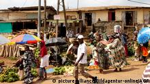 Kamerun - Markt in Yaounde