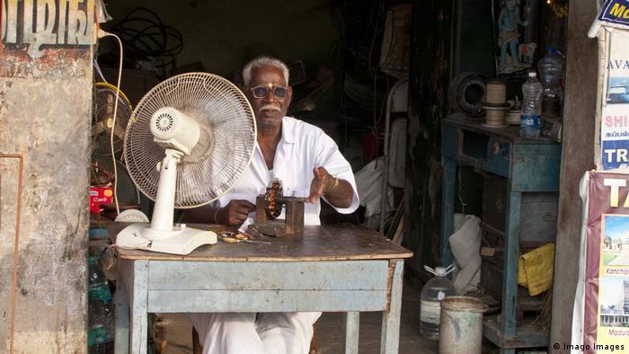Indien Wetter l Hitzewelle - Hitze