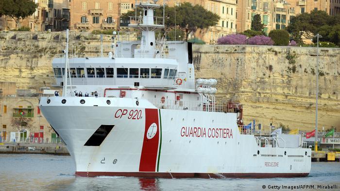 The Gregoretti, seen in Malta