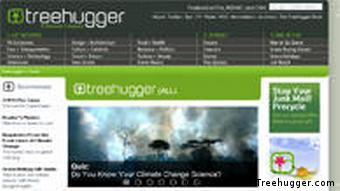 Screenshot of treehugger.com