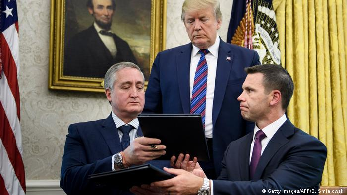 USA Washington Donald Trump verkündet neue Asyl Regeln mit Guatemala (Getty Images/AFP/B. Smialowski)