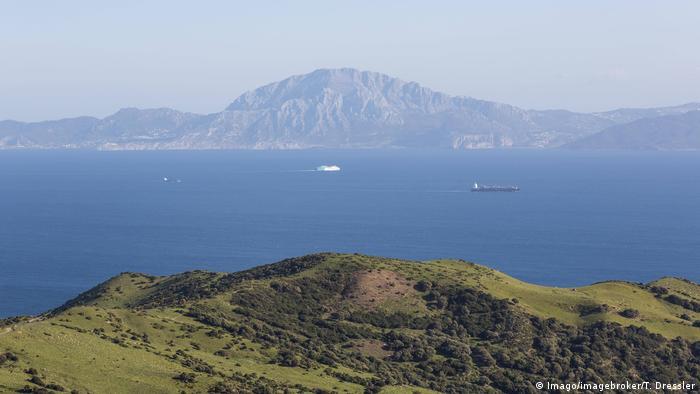 Marokko l Blick auf die Straße von Gibraltar