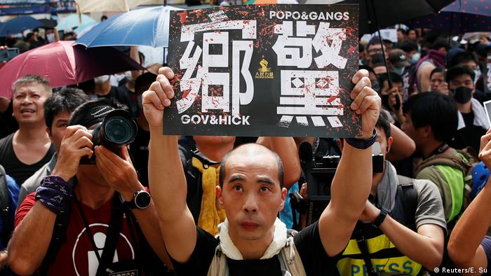Hong Kong Protest in Yuen Long