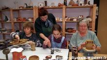 Deutschland Beginen l Keramik-Werkstatt im Rostocker Beginenhof
