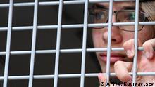 Russland Moskau Protest Opposition Polizei