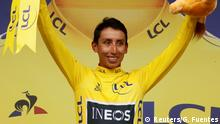 Tour de France 20. Etappe Egan Bernal
