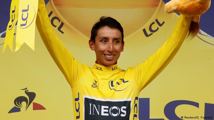 Tour de France 20. Etappe Egan Bernal (Reuters/G. Fuentes)