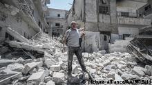 Syrien Idlib Ariha Luftangriff