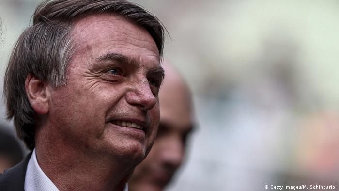 Brasilien Sao Paulo Palmeiras vs Vasco da Gama | Jair Bolsonaro