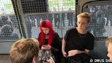 Russland Moskau Festnahme Sergei Dik auf Demonstration