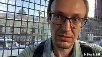 Corespondentul DW Serghei Dik (DW/S. Dik)