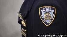USA Kriminalität l Symbolbild - NY Police