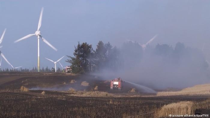Germany: Dozens treated after fire near North Sea coast