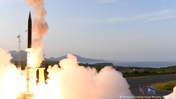Israel tests US-backed missile shield over Alaska