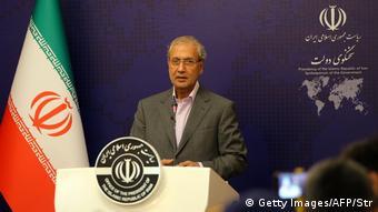 Ali Rabiei, portavoz del Gobierno de Irán.