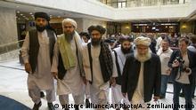 Russland l Politischen Führer der Taliban treffen zu Gesprächen in Moskau ein