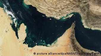 Iran Krise l Straße von Hormus (picture alliance/dpa/NASA/The Visible Earth)