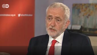 Still DW Interview Corbyn