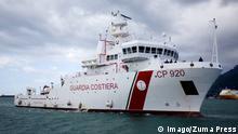 Italien Schiff Bruno Gregoretti Küstenwache