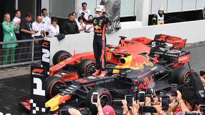 German Grand Prix: Max Verstappen seals thrilling F1 victory