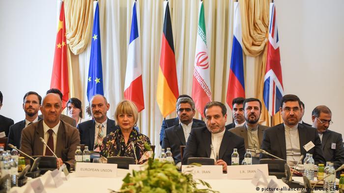 اجتماع للدول الموقعة على الاتفاق النووي للحد من أنشطة إيران لبحث تداعيات الانسحاب، يوليو/ تموز 2019.