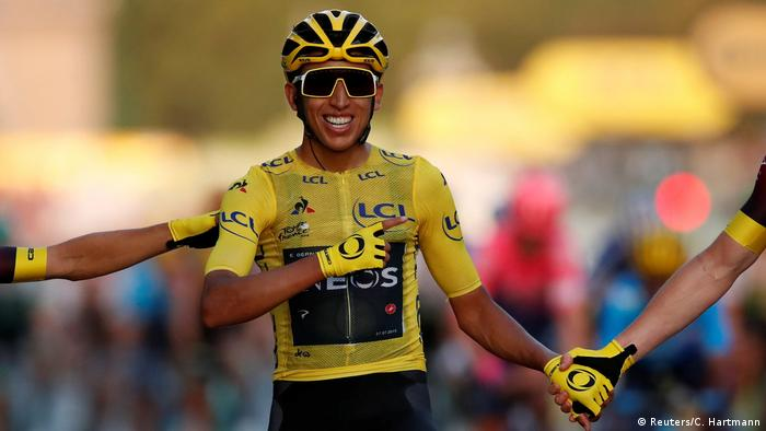 Egan Bernal vence o Tour de France
