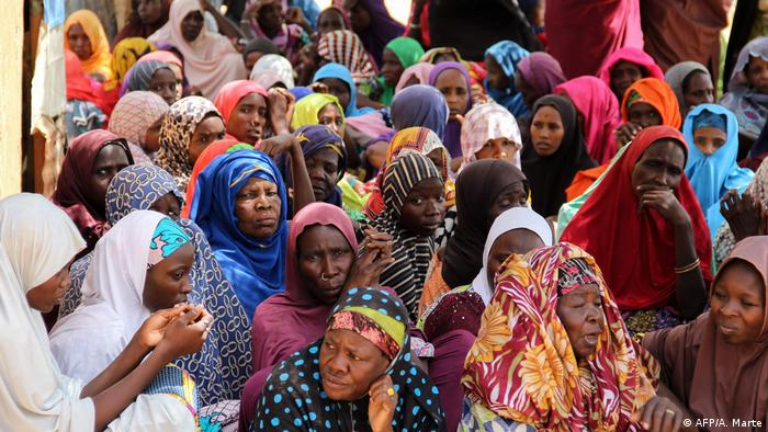 A gathering of Nigerian women (AFP/A. Marte)