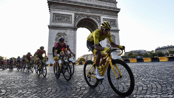 Frankreich- Tour de France - Egan Bernal (Getty Images/AFP/A. Poujoulat)