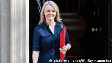 Uk, London: Liz Truss