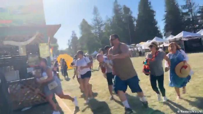 USA, Gilroy: Schüsse beim Garlic Festival