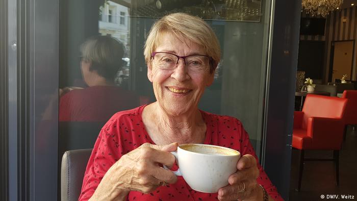 Пенсионерка из Кельна Уте Шнайдер