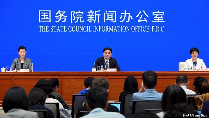China PK zur Lage in Hongkong in Peking