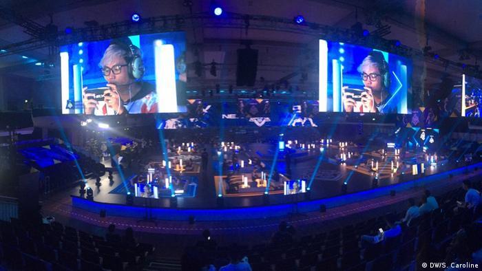 Tempat perhelatan Turnamen Terbuka PUBG Mobile, Estrel Arena, Berlin