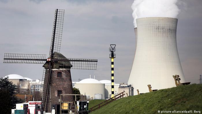 Belgien Atomkraftwerk in Doel
