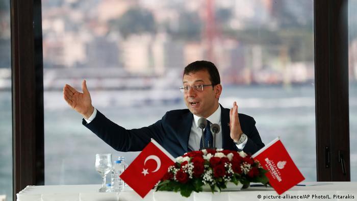 Istanbul's Mayor Ekrem Imamoglu