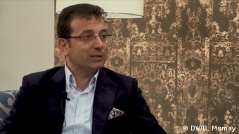 DW Still aus Video | Ekrem Imamoglu, Bürgermeister von Istanbul (CHP)