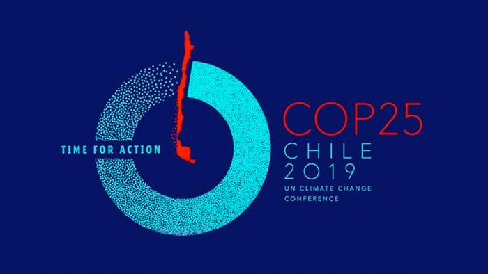 Logo COP 25 in Chile