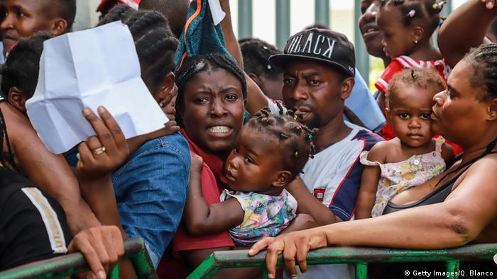 Symbolbild Mexiko Geflüchtete aus afrikanischen Ländern (Getty Images/Q. Blanco)