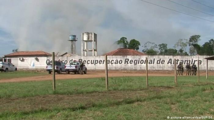 Brasilien Gefängnis in Altamira (picture-alliance/dpa/SUPISE)