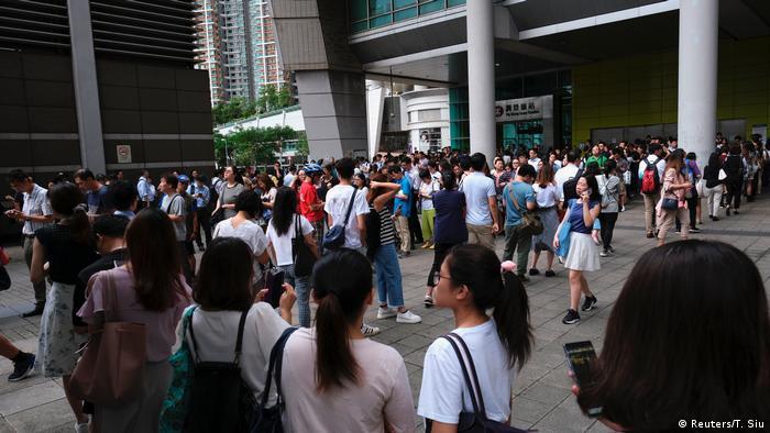 Hong Kong Proteste (Reuters/T. Siu)