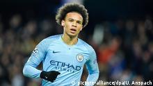 Großbritannien Leroy Sane Manchester City