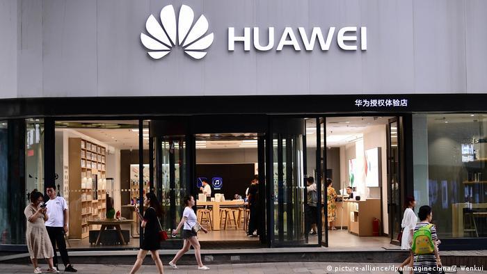 China Shenyang | Hauwai Geschäft (picture-alliance/dpa/Imaginechina/Z. Wenkui)