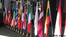 Fahnen einiger Mitgliedsländer der Europäischen Union