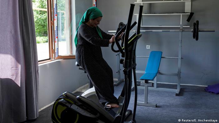 Фитнес-зал в Панкисском ущелье