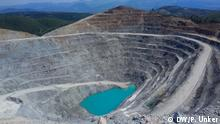 Mining for gold in Canakkale, Turkey