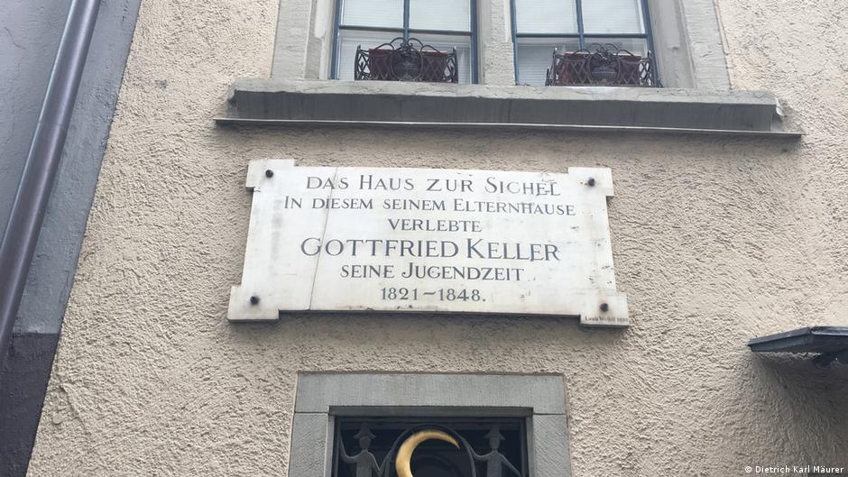 Auf Gottfried Kellers Spuren durch Zürich