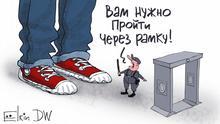 Russland Karikatur von Sergey Elkin