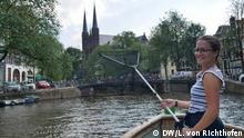 Europe by Train | DW Reporter Giulia Saudelli in Amsterdam