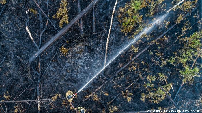 Wildfires spread in remote Siberia, Russian Far East